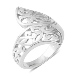 Jewelry - STERLING SILVER BYPASS RING
